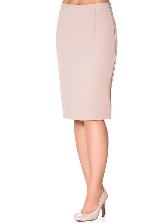 Классическая женская юбка за колено (размеры S-XL)