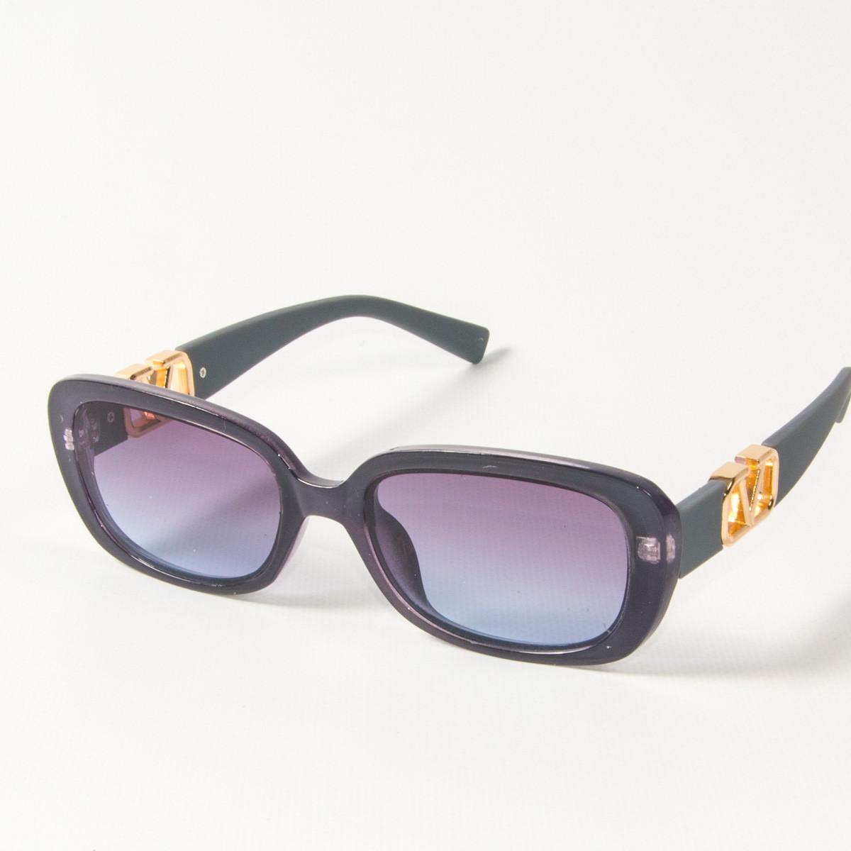 Оптом женские солнцезащитные очки  (арт. 2395/4) фиолетовые