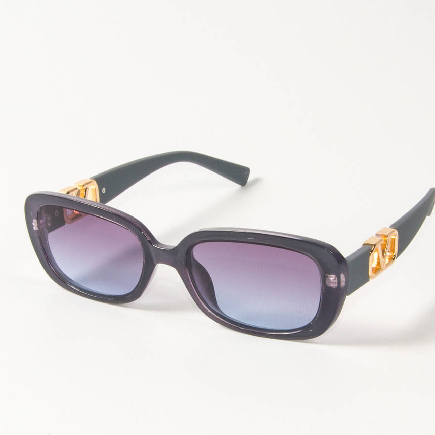 Оптом женские солнцезащитные очки  (арт. 2395/4) фиолетовые, фото 2