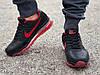 Кроссовки мужские черные Nike air max  реплика, фото 3
