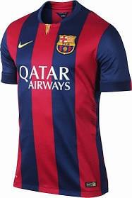 Футбольная форма сезона 2014-2015 Барселона ( Barcelona ), домашняя