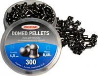 Пульки Luman Domed Pellets Кал. 4.5 мм. Вес - 0.68 г. 300 шт/уп