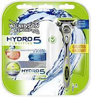 Набор бритвенный станок Wilkinson Sword (Schick) HYDRO 5 Sensitive + 4 картриджа01252