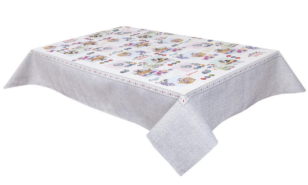 Скатертина тканинна гобеленова великодній 137 х 180 см