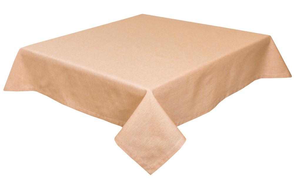 Скатерть тканевая пасхальная полиэстер бежевая 130 x 180 см