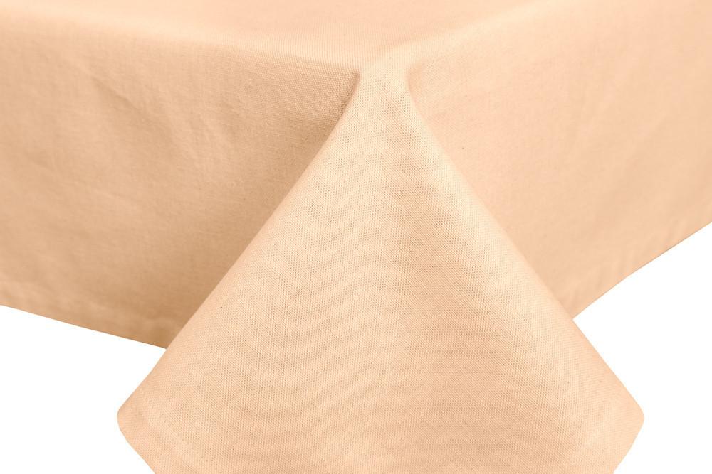 Скатерть тканевая пасхальная полиэстер бежевая 130 x 220 см