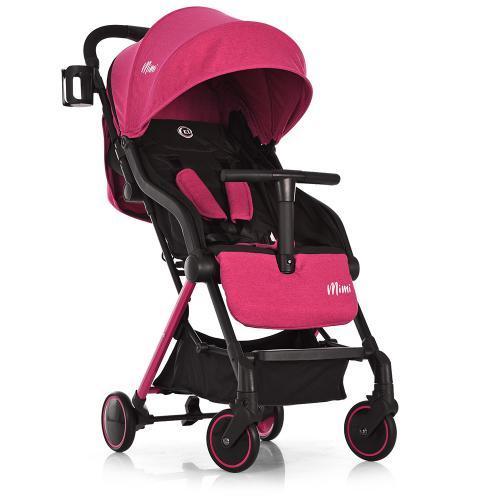 Детская прогулочная коляска EL CAMINO MIMI ME 1036 Candy Pink