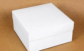 Подарочная коробка White 20х20х10 см