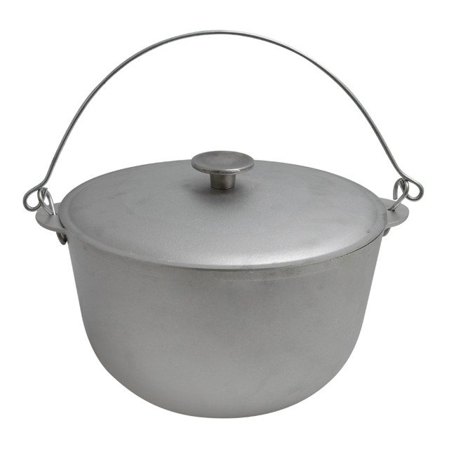 Казан алюминиевый для плова 12 литров