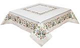 Скатертина тканинна гобеленова великодній 137 х 180 см, фото 2