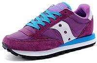 Женские кроссовки Saucony Jazz в фиолетовом цвете
