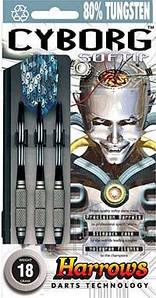 Дартс, дротики професійні Harrows Англія Cyborg 18 грам