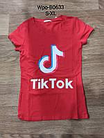 Женская футболка оптом, Glo-story, S-XL,  № WPO-B0633