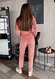 Комбинезон женский розовый бежевый 42-44 46-48, фото 3