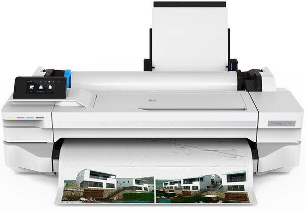 Плоттер HP DesignJet T125 + Wi-Fi (5ZY57A)