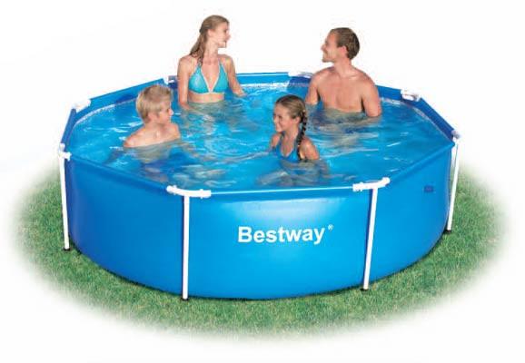 Каркасный бассейн BestWay 244x61 см (56045)
