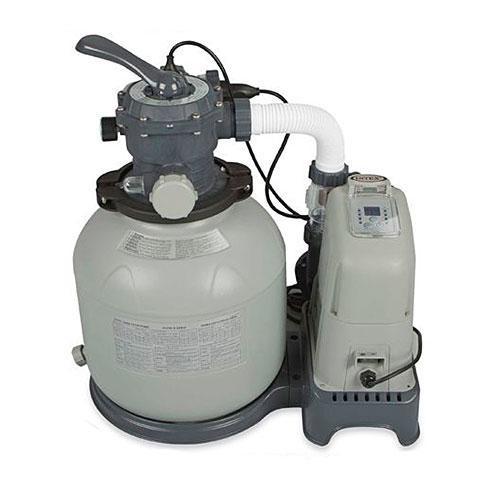 Фильтрующий насос INTEX 28682 со встроенным хлоргенератором