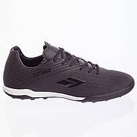 Сороконожки обувь футбольная ALL BLACK, PU, р-р 40-45, черный (190127-3)