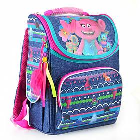 Рюкзак шкільний каркасний 1 Вересня H-11 Trolls, 34*26*14 553405