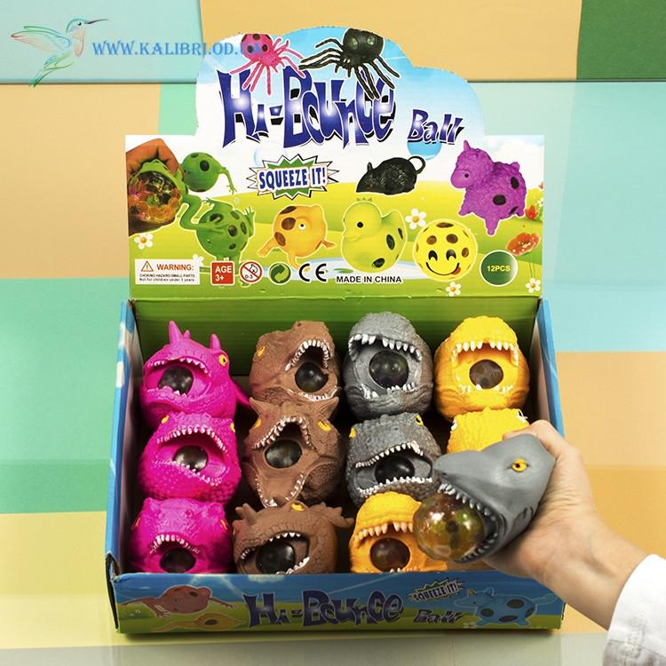 Іграшка антистрес з орбизами Динозаври