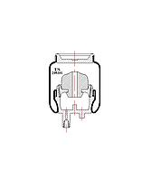 Пневмоподушка кабины RENAULT 205101-US