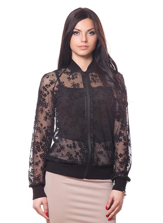 Изящная женская кофта из кружева (размеры S-XL)