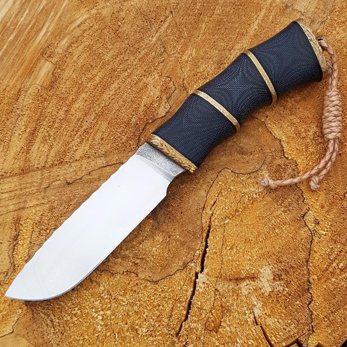 Нож ручной работы Бамбук (сталь N690)