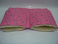 Муфта для рук - розовая с мишутками