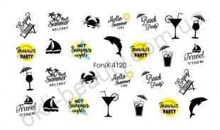 Слайдер-дизайн Fonix 4120 Надписи