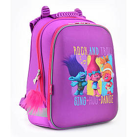 Рюкзак шкільний каркасний 1 Вересня H-12 Trolls 554369