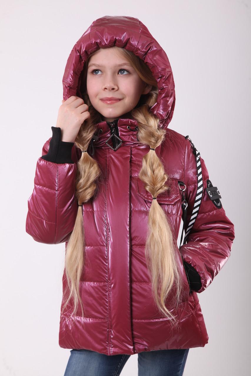 Куртки для девочек весенние Рост 140