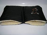 Муфта для рук - черная, фото 1