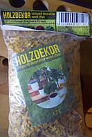 Щепа декоративная, хвойных пород 3 цвета (органические красители) обем пакеты 1,2 л.