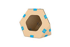 Модульный домик для котов Collar TelePet, 440х440х370 мм