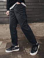 Мужские черные джинсы стафф Staff pue black regular FFK0096