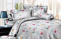 Двуспальный комплект постельного белья евро 200*220 хлопок  (13717) TM KRISPOL Украина