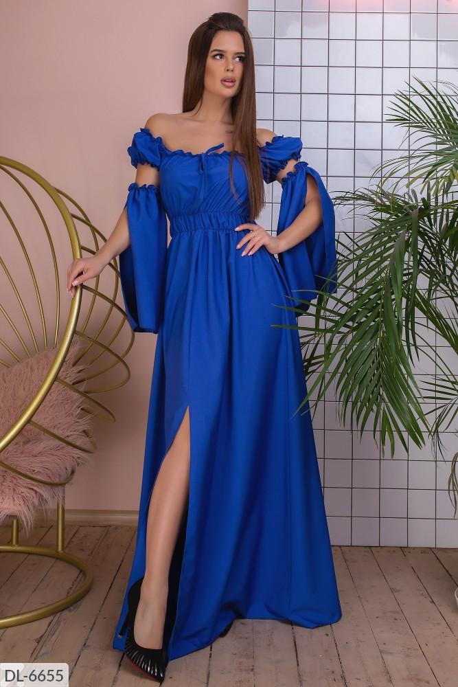 Платье женское длинное в пол стильное размеры  42 44 46 новинка 2020 есть цвета