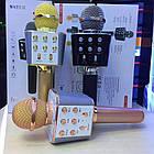 Оригинальный беспроводной караоке микрофон Wster WS-1688 - колонка 2 в 1, фото 6