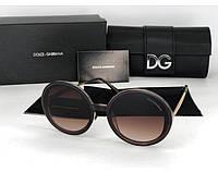 Жіночі сонцезахисні окуляри (4044) brown, фото 1