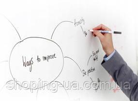 Самоклеющаяся пленка для рисования на стене маркером 45 х 180см + маркер 011, фото 2
