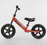 """✅Дитячий велобіг від (беговел) CORSO 32003, сталева рама, колесо 12"""" EVA (ПІНА), фото 2"""