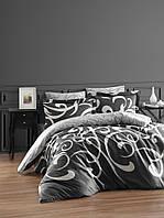 Комплект постельного белья First Choice Satin Ruya Fume