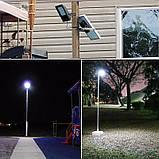 Уличный светодиодный прожектор на солнечной батарее 120 LED 3.7 В/10 000 мАч, фото 3