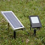 Уличный светодиодный прожектор на солнечной батарее 120 LED 3.7 В/10 000 мАч, фото 6