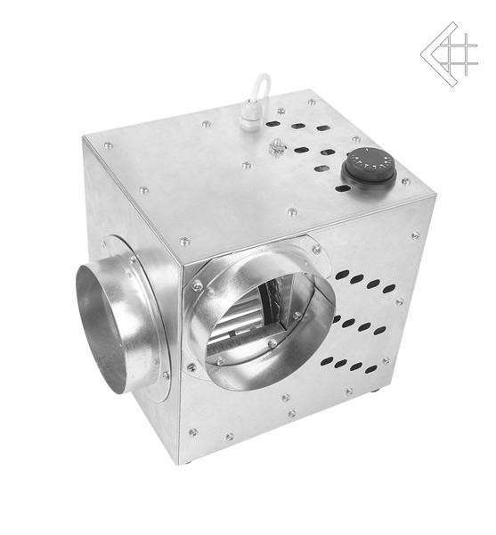 Турбина для камина (турбовентилятор) Zefir PRO 750 м3/ч