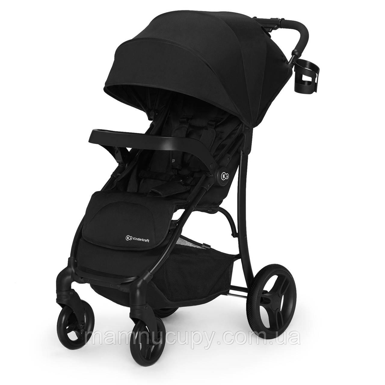 Детская прогулочная коляска Kinderkraft Cruiser Black (Киндеркрафт)