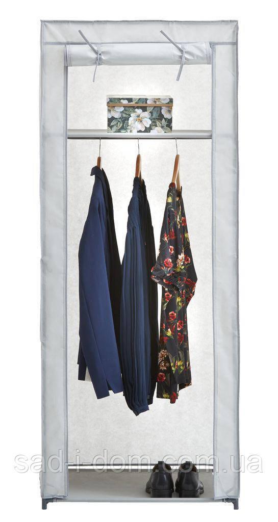 Тканевый шкаф на металлическом каркасе (60x150см)
