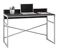 Столик офисный стильный письменный, компьютерный на металлических ножках, фото 1