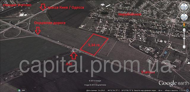 Продажа земли для ведения бизнеса в Одесской области