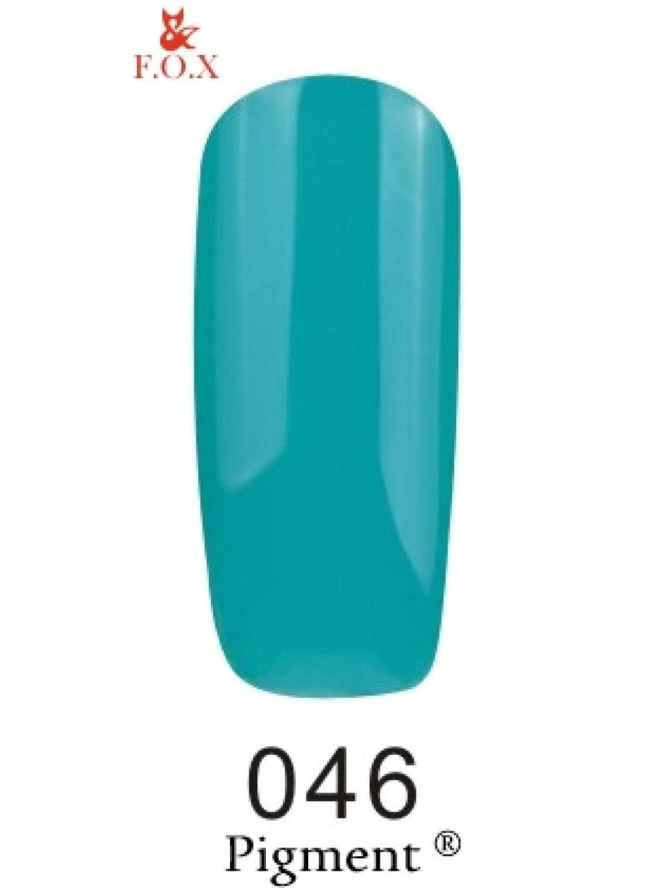 046 F.O.X gel-polish gold Pigment 6 мл